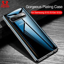 Luxury Clear Soft Silicone Plating Case Cover Skin for Samsung Galaxy S10+ S10e