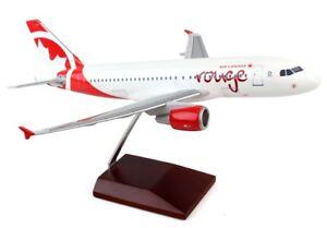 Rouge Air Canada Airbus A319-100 C-FYJE Desk Top Display 1/100 Model AV Airplane