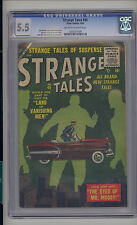 Strange Tales #45 CGC 5.5 FN- Unrestored Atlas Marvel Scarce OW/W Pages