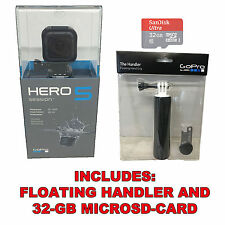 GoPro Hero5 Session 4K HD, Wi-Fi Waterproof Camera 32GB SD Card + Floaty Handler