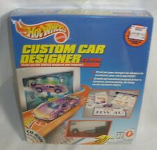 Hot Wheels Custom Car Designer with Drag Bus Factory Sealed