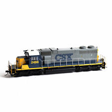 HO CSX SD38 Locomotive #2466 w/ Sound & DCC - Athearn #88580 vmf121