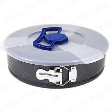 "26cm/10"" Round SPRINGFORM Tin Lid Carry Handle Cake/Pie/Brownie Baking Pan Tray"