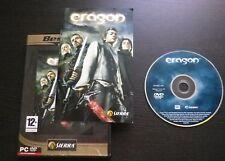 JEU PC DVD-ROM : ERAGON (Sierra COMPLET envoi suivi)