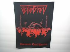 TEITANBLOOD ABOMINABLE SUBLIMATED BACK PATCH