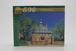 Golden Books 500 Piece Puzzle Governor's Mansion Williamsburg, VA