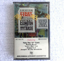 Vintage Cassette Tape Duke Ellington And Count Basie First Time   / New Seal