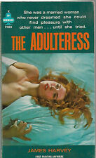 New listing The Adultress - James Harvey - Midwood F393 Sleaze