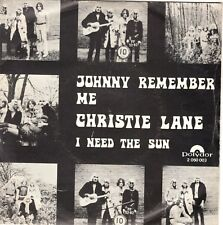 7inch CHRISTIE LANE	johnny remember me	HOLLAND EX	  (S2783)