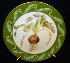 "Beautiful TOYO Decorative Turnip Vegetable Design 10-1/4"" Plate"