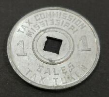 Tax Comission Mississippi Sales Tax Token