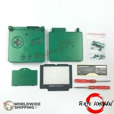 KIT COMPLET COQUE + ECRAN GAME BOY ADVANCE SP POKEMON RAYQUAZA / SHELL CASE GBA