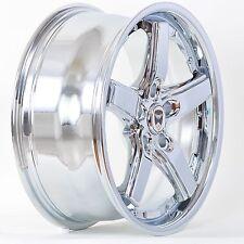 4 GWG Wheels 17 inch Chrome DRIFT Rims fits 5x114.3 TOYOTA CAMRY SE V6 2005-2011