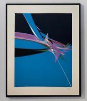 Hajime KATO (1925-2000) RARE LITHOGRAPHIE ORIGINALE ABSTRACTION 1950/60 (10)