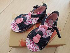 Dark Blue & Pink Kickers Sandals - Size 23 (6) - Excellent Condition worn once