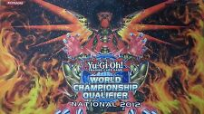 YuGiOh 2012 WCQ National Hieratic Sun Dragon Overlord of Heliopolis Playmat