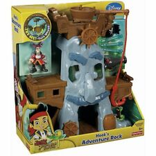 Fisher-Price Jake and the Never Land Pirates Hook's Adventure Rock Playset NEW!