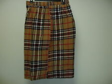 4  X/L  Cotton Check Shorts