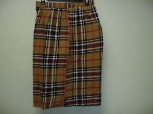5 X/L Cotton Check Shorts