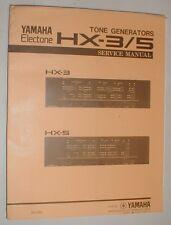 Yamaha Electone HX-3 HX-5 Tone Generator HX3 HX5 Service Repair Manual Schematic