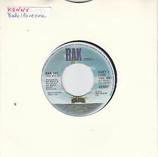 KENNY - baby i love you ok / the sound of super k 45""