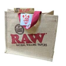 SMO KING x RAW Burlap Bag Gift Set - Tote bag G-Tip and Sticker