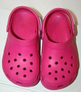 Crocs size 11 Toddler, Kids Girls Crocs Girls Pink Crocs