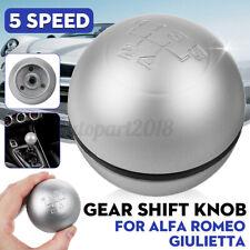 5 Pommeau Levier de Vitesse Mat pour Alfa Romeo Giulietta 50294565 55346345