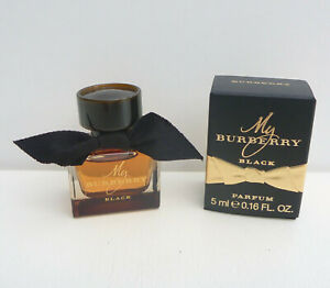 Burberry My Burberry Black Parfum mini Perfume, 5ml / 0.16oz, Brand New in Box