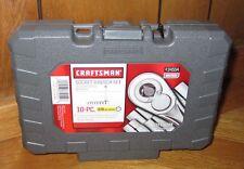 "NEW CRAFTSMAN 10 PC 6 PT 3/8"" DRIVE METRIC SOCKET WRENCH SET 34554"