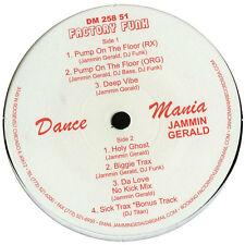 """JAMMIN GERALD Factory Funk DANCE MANIA 12"""" Biggie Trax DJ Funk SEALED NEW"""
