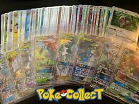 Pokemon 5 Card Japanese Holo Pack w/ 1 GUARANTEED GX! Full Art Rainbrow Tag Team