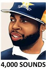 J Dilla 4,000 Drum Kit Sound Hip Hop Sample Jay Dee 9th Premier Hi-Tek LOTUS mpc