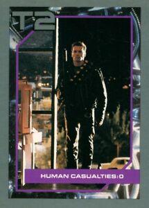 "1991 Impel #81 Terminator 2 T2 Trading Card, ""Human Casualties: 0"" (027-5)"