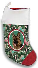 German Shepherd Christmas Stocking