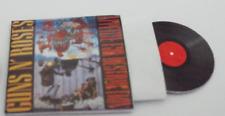 Mini  'GUNS N' ROSES' record album Dollhouse BARBIE KEN BLYTHE GI JOE  1/6