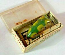 F2) Vintage Flatfish Helin Tackle Co Detroit Mi Casting Trolling Fishing Lure