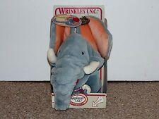 1985 Ganz Bros. Wrinkles Trunkit Hand Puppet Elephant Brand New MIB