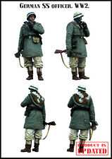 1:35 WWII German ss officer High Quality Resin Figure Kit