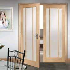 Internal Oak Glazed Double Doors (Worcester/Lincoln)