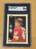 1990 Bowman Tiffany #92 SGC 9 Sergei Makarov RC Rookie Low Pop