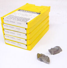 """25 New Kennametal Top Notch Grooving Carbide Inserts, Size 4, .130""""+/- Groove"""