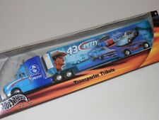 Hot Wheels Racing Richard Petty Transporter Tribute 1/64 Scale- New Sealed