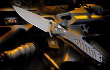 Spartan Blades Knife Pallas Folder Blackout S35VN Button Lock Drop Point