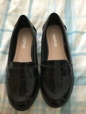 Boohoo Ladies Loafers Shoes Size 4