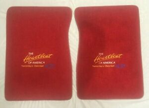 """Chevrolet Chevy FRONT FLOOR MATS Set of 2 USED- approx. 29"""" x 20"""""""