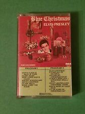 Elvis Presley Blue Christmas Cassette Tape Album