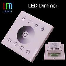 LED Dimmer Controller für Wandeinbau Touch-Pad , Farbe - weiß