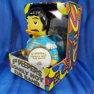Sargent Peepers Lonely Hearts Club Band CelebriDuck Rubber Duck for Beetles fans