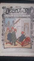 Revista Jean Que Rit N º 376 1908 Journal Demuestra que Aparecen El Viernes ABE